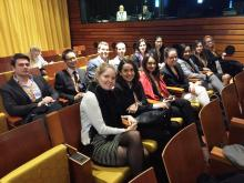 Study trip in Luxembourg, 2016